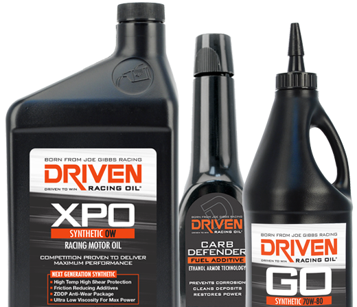 Driven Racing Oil Products | Anglo American Oil Company