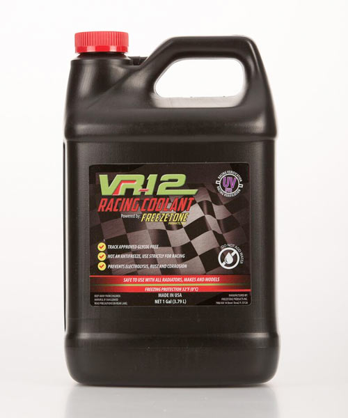 VR12 racing coolant