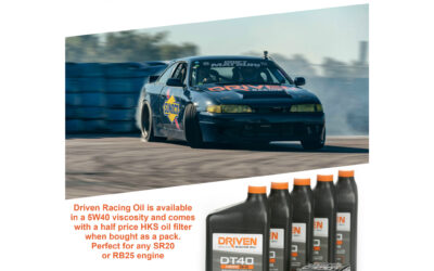 Driven Racing Oil DT40 5W/40 Pack for SR20 & RB25 Engines